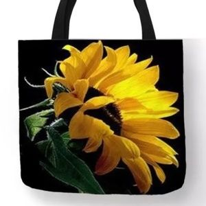 Tote Bag - NEW- Sunflower Tote Bag